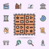 kilskrift spr?k, symbolsymbol E royaltyfri illustrationer