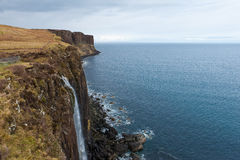 Kilt Rock Royalty Free Stock Images