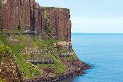 Kilt rock on the Isle of Skye Stock Photos