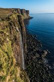 Kilt Rock and Mealt Falls Viewpoint stock image