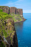 The Kilt rock in Scotland Royalty Free Stock Photography