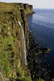 Kilt rock on Skye Stock Images