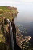 Kilt Rock Waterfall Stock Image