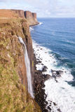 Kilt rock Waterfall Scotland Stock Images