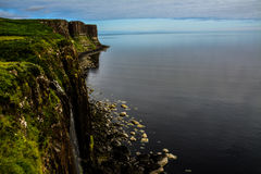 Kilt Rock Waterfall. Elishader Ellishadder  Royalty Free Stock Photo