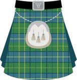 Kilt scozzese Immagini Stock Libere da Diritti