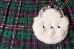 Kilt and sporran Stock Image