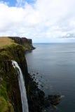 Kilten vaggar på ön av Skye, Skottland Arkivfoto