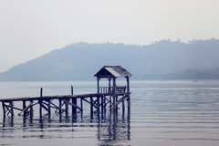 Kiluan Bay. Hidden paradise - Kiluan Bay - Sumatra - Indonesia Stock Image