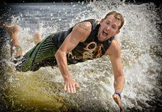 Kilwateru surfing fotografia stock