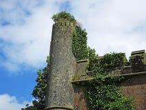 Kilwaughter城堡 库存照片