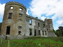 Kilwaughter Castle royalty free stock image
