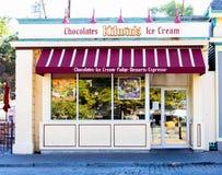 Kilwin's Ice Cream, Newport, Rhode Island. Kilwin's Chocolates and Ice Cream, located on Thames Street, Newport, RI stock photos