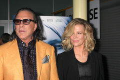 Kim Basinger,Mickey Rourke Royalty Free Stock Images