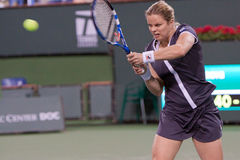 Kim Clijsters at the 2010 BNP Paribas Open Royalty Free Stock Photography
