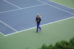 Kim Clijsters - les États-Unis ouvrent le tennis Images libres de droits