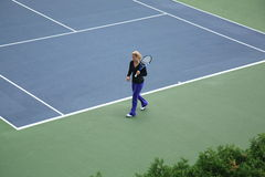 Kim Clijsters - U.S. Open Tennis Royalty Free Stock Images