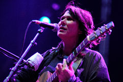 Kim Deal, singer of The Breeders band, performs at Heineken Primavera Sound 2013 Festival Royalty Free Stock Images
