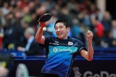 KIM Donghyun da rotação da parte superior de Coreia Fotos de Stock Royalty Free