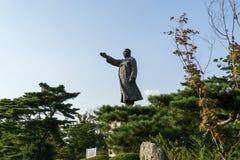 Kim Gu staty Royaltyfri Bild