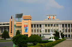 Kim Il-sung Stadium, Pyongyang, North-Korea Stock Photo