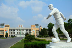 Kim Il-sung Stadium, Pyongyang, North-Korea Royalty Free Stock Images