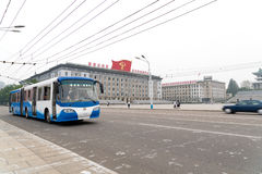 Kim Il-sung Square, Pyongyang, North Korea Royalty Free Stock Image