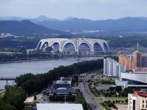 Kim Il Sung Stadium Imágenes de archivo libres de regalías