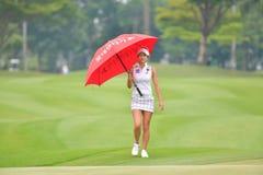 Kim Ji Min av Republiken Korea i PTT Thailand LPGA Maste Arkivfoton