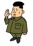 Kim Jong-un Royalty-vrije Stock Foto's