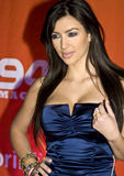 Kim Kardashian Royalty-vrije Stock Fotografie