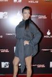 Kim Kardashian appearing. Kim Kardashain on the red carpet in Holllywood in November 2006 royalty free stock photo