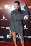 Kim Kardashian appearing. Kim Kardashain on the red carpet in Holllywood in November 2006 Royalty Free Stock Photography