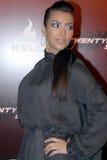 Kim Kardashian auf dem roten Teppich. Lizenzfreie Stockfotografie