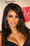 Kim Kardashian, Nicole Brown Photographie stock libre de droits