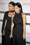 Kim Kardashian e Kourtney Kardashian Foto de Stock