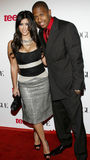 Kim Kardashian en Nick Cannon Royalty-vrije Stock Afbeeldingen