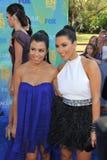 Kim Kardashian,Kourtney Kardashian Stock Image