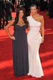 Kim Kardashian,Kourtney Kardashian Stock Photography