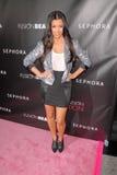 Kim Kardashian. At the Launch Event for FusionBeauty's Infatuation Lip Gloss, Sephora, Hollywood, CA. 10-15-09 Royalty Free Stock Photo