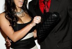 Kim Kardashian and Nick Cannon Royalty Free Stock Photo