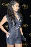 Kim Kardashian no tapete vermelho Imagens de Stock Royalty Free