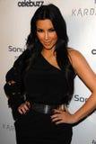 Kim Kardashian, onderzoek stock afbeelding