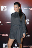 Kim Kardashian on the red carpet. Kim Kardashian on the red carpet in Holllywood in November 2006 Stock Images