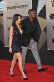 Kim Kardashian, Reggie Bush fotografie stock