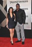 Kim Kardashian, Reggie Bush fotografia stock libera da diritti