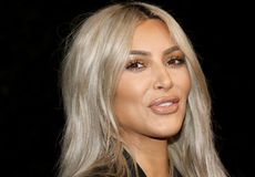 Kim Kardashian West stockfotos