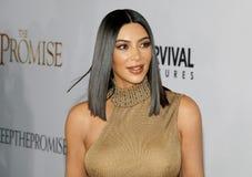 Kim Kardashian West Fotografie Stock