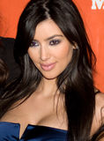 Kim Kardasian Fotografia de Stock Royalty Free