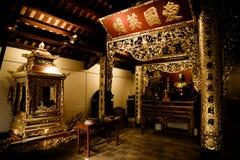 Kim Lien Temple interno Fotos de Stock Royalty Free